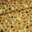 Kép 1/2 - Prémium pamut jersey, Mustár erdő