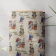 Kép 1/3 - Gobelin bútorszövet, nyuszi mintával