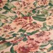 Kép 2/2 - Gobelin bútorszövet, rózsa mintázattal