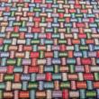 Kép 2/2 - Gobelin bútorszövet, Füzér mintás