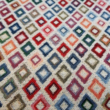 Kép 2/2 - Gobelin bútorszövet, kis rombusz