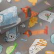 Kép 1/2 - Loneta vászon, állatok