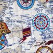 Kép 2/2 - Loneta vászon, térkép