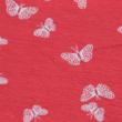 Kép 2/2 - Elasztikus pamut jersey, pillangó