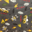 Kép 2/2 - Elasztikus pamut jersey, Batman