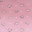 Kép 2/2 - Elasztikus pamut jersey, kiscicák