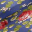 Kép 1/2 - Loneta vászon, rózsa
