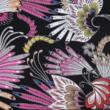 Kép 2/2 - Viszkóz voile, lila pillangó