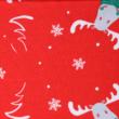 Kép 2/4 - Elasztikus pamut jersey, Rudolf a rénszarvas