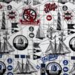 Kép 3/3 - Dekortextil jacquard, jacht klub