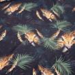 Kép 1/2 - Prémium pamut jersey, dzsungel