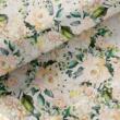 Kép 1/2 - Loneta vászon világos virágoskert