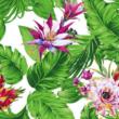 Kép 2/2 - Loneta vászon, zöld növények