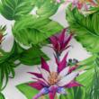 Kép 1/2 - Loneta vászon, zöld növények