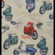 Kép 2/2 - Loneta vászon, vespa