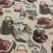 Kép 2/2 - Gobelin bútorszövet, táska mintázattal