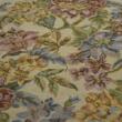Kép 2/2 - Gobelin bútorszövet, virág mintás