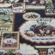 Kép 2/2 - Gobelin bútorszövet, gyümölcs mintázattal