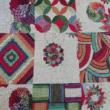 Kép 2/2 - Gobelin bútorszövet, patchwork