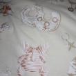 Kép 1/4 - Mintás vastag vászon, elefánt