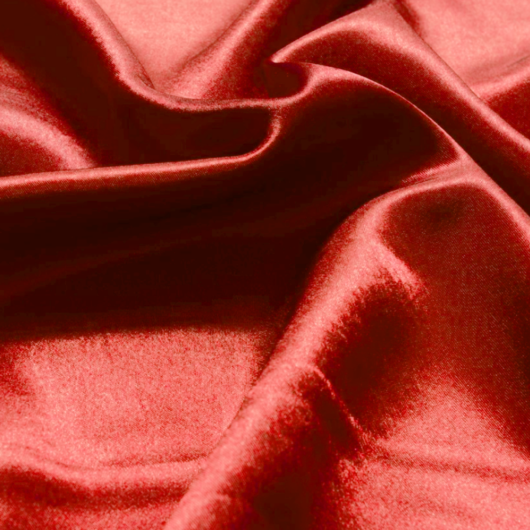 Crepp Szatén, piros