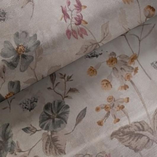 Loneta vászon, virág