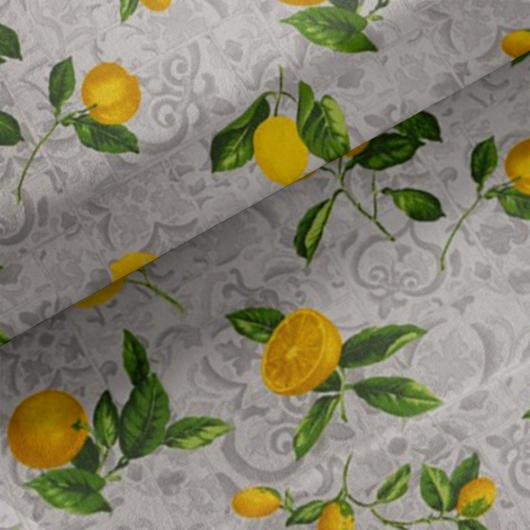 Loneta vászon, citrom