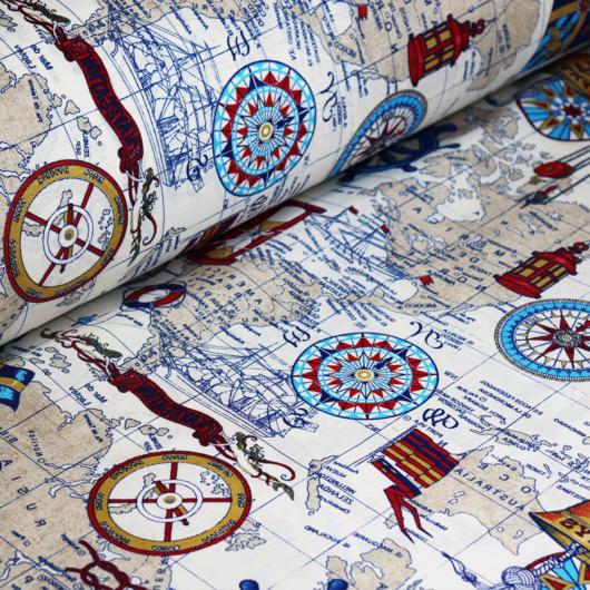 Loneta vászon, térkép
