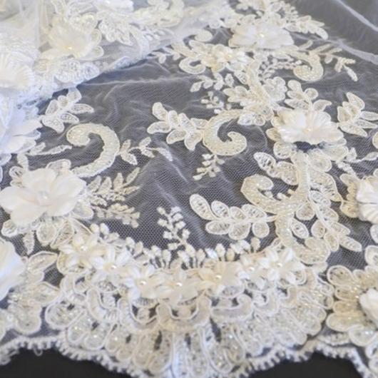Esküvői csipke 3D