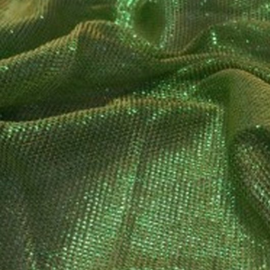 Dekorációs lamé, zöld