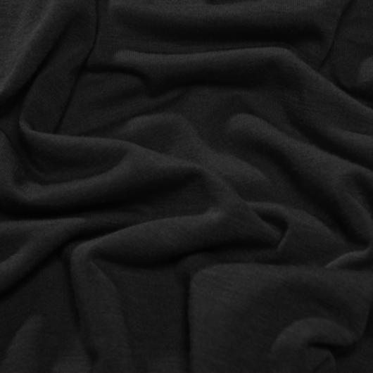 Póló anyag, fekete