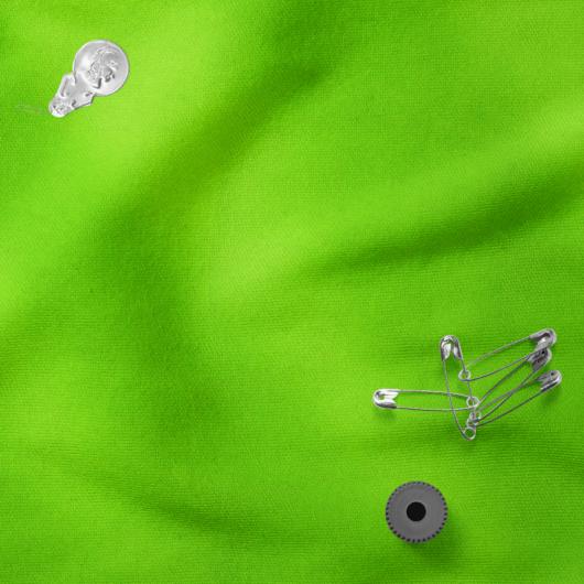 Futter, szabadidő anyag neonzöld színben