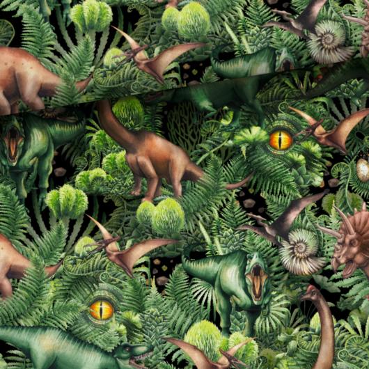 Prémium pamut jersey, Jurassic World