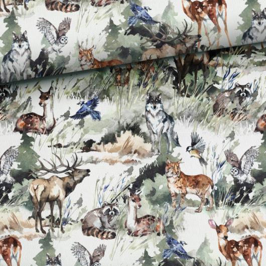 Prémium pamut jersey, Az erdő legendái