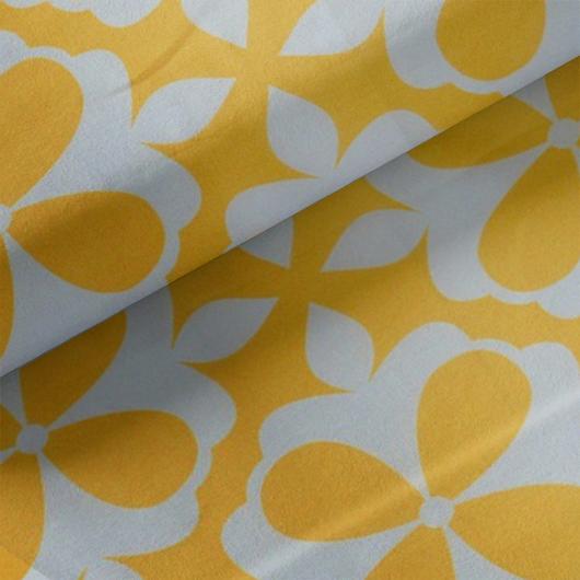 Party vízlepergető retro, sárga