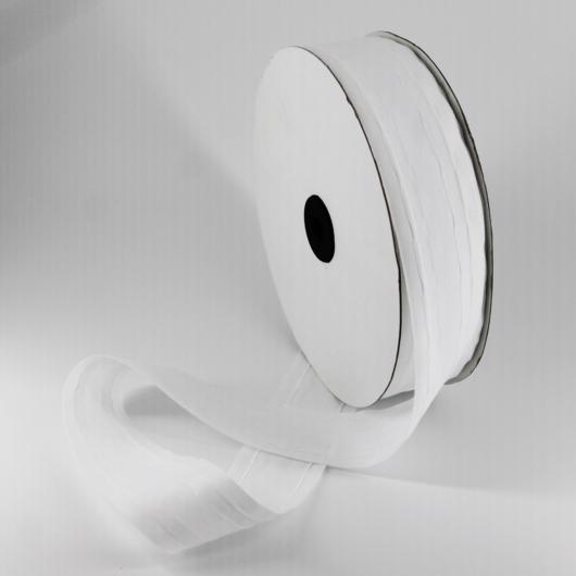 Függönybehúzó szalag fehér 25 mm