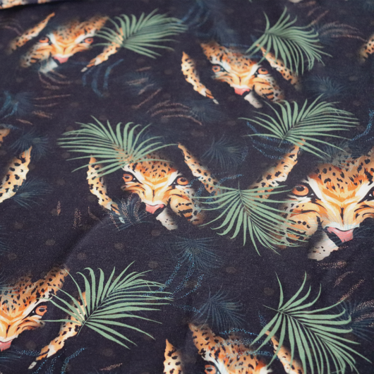 Prémium pamut jersey, dzsungel